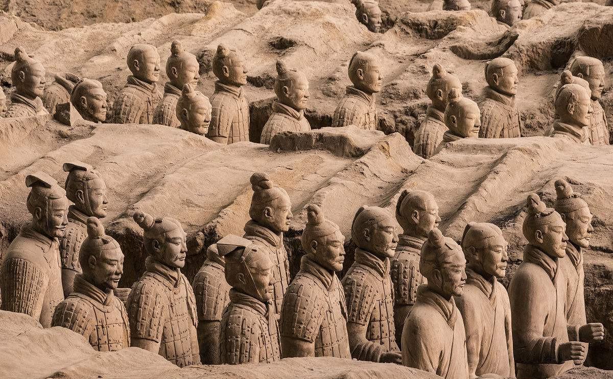 【玩美西安】西安明城墙、陕西历史博物馆、兵马俑双高2日游
