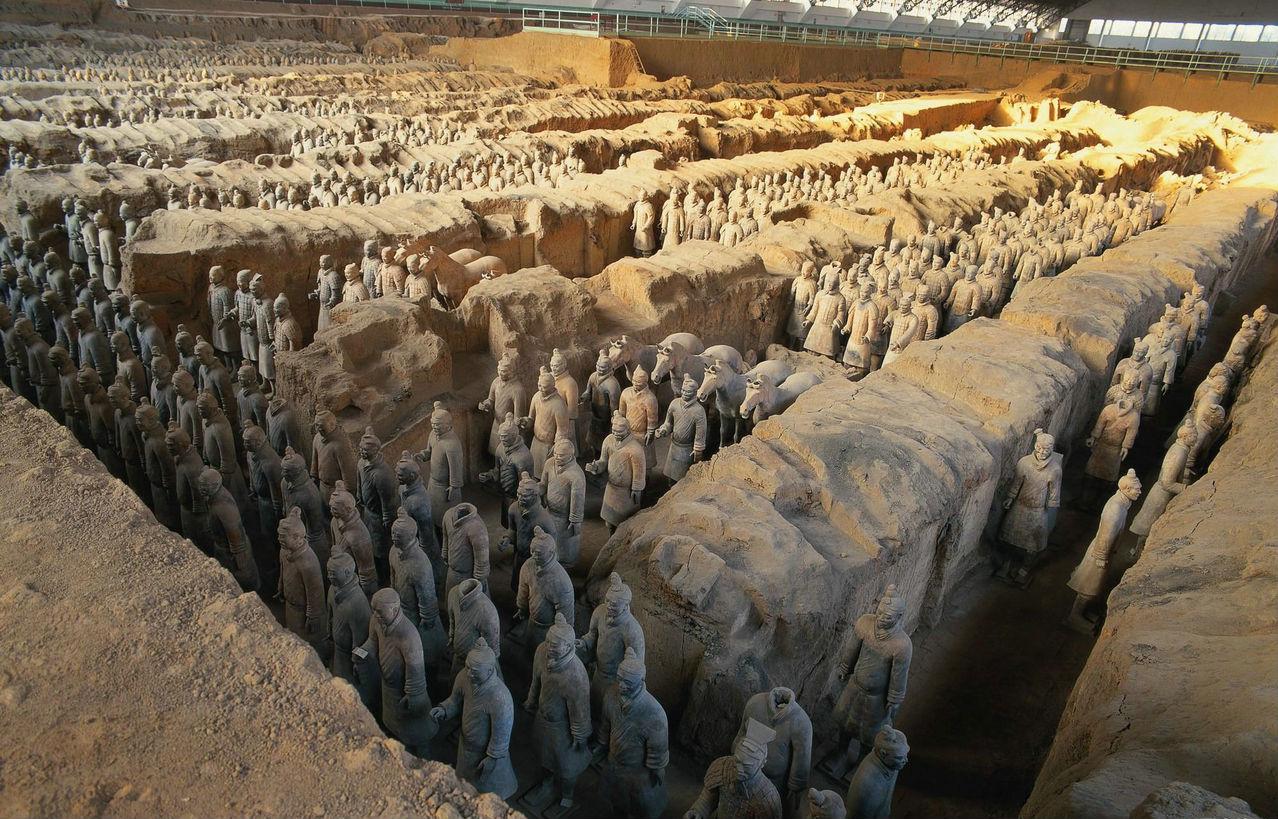 【玩美西安】西安明城墙、陕西历史博物馆、兵马俑、华山、乾陵 双卧6日游