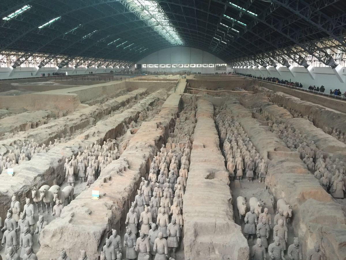 【玩美西安】西安明城墙、陕西历史博物馆、兵马俑、华山、乾陵、延安、壶口.双卧8日游