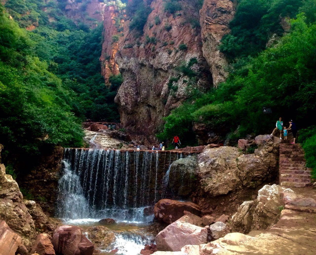 伏羲山大峡谷一日游
