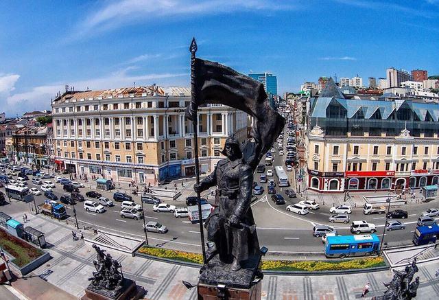 俄罗斯*符拉迪沃斯托克(海参崴)、绥芬河、哈尔滨