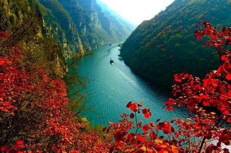 赏桃花,踏青游,青天河一日游  山水名胜
