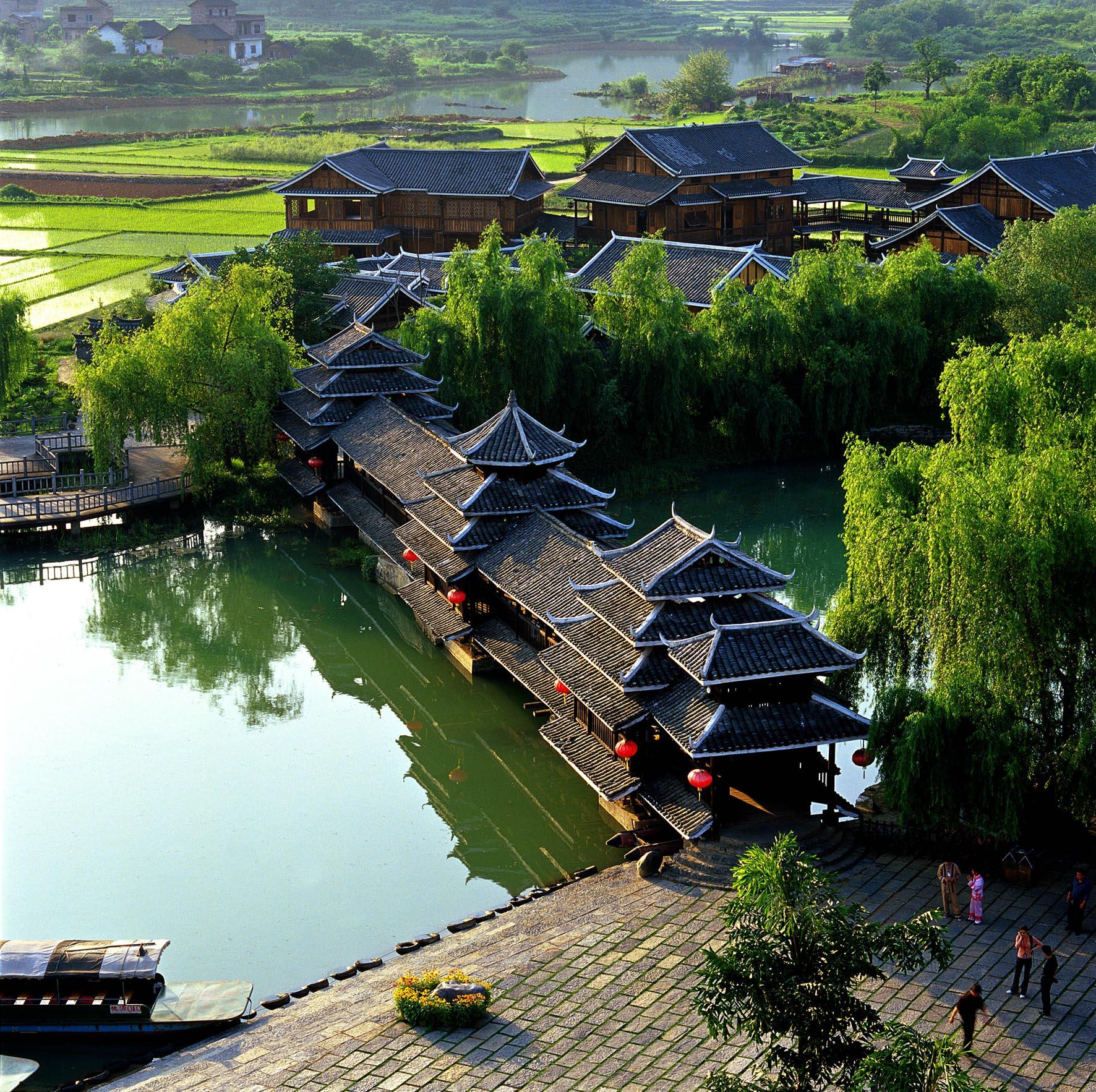 桂林、漓江、阳朔春节双卧6日游