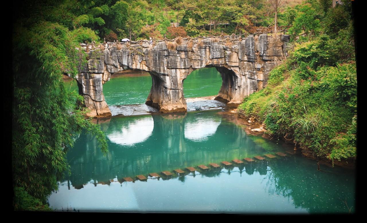 贵州黄果树、天星桥、陡坡塘、荔波小七孔、西江千户苗寨双飞5日游