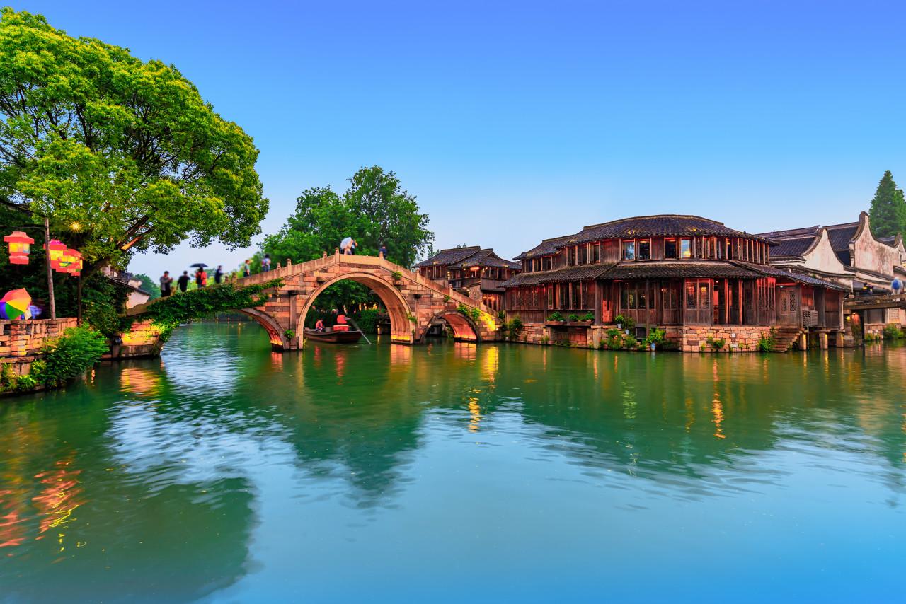 苏州、杭州、上海水乡乌镇+南浔古镇双卧五日游