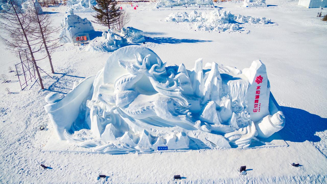 【阿尔山国家森林公园、白狼民俗村、亲爱的客栈、雪村、冰雪乐园、激情滑雪】冰雪温泉之旅 四飞5晚6日